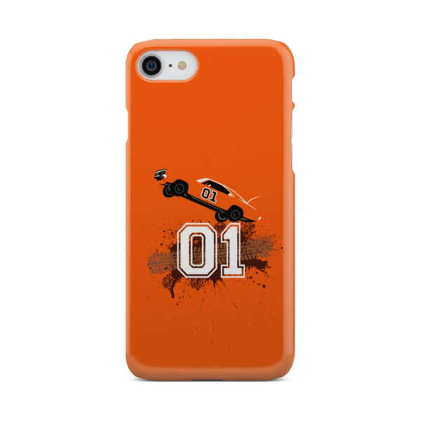 Dukes of Hazzard Orange Car for Stylish iPhone 7 Case