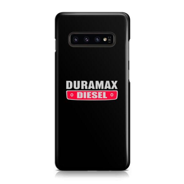 Duramax Diesel Logo for Newest Samsung Galaxy S10 Case Cover