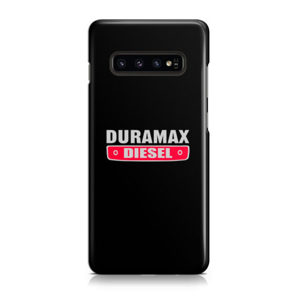 Duramax Diesel Logo for Premium Samsung Galaxy S10 Plus Case