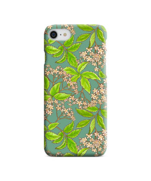Elderflower Green Leaf for Amazing iPhone 7 Case