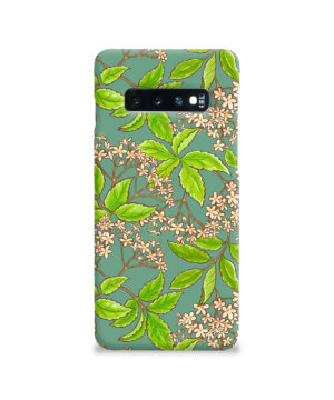 Elderflower Green Leaf for Nice Samsung Galaxy S10 Case