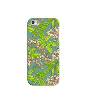 Elderflower Green Leaf for Personalised iPhone 5 Case Cover