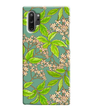 Elderflower Green Leaf for Personalised Samsung Galaxy Note 10 Case Cover