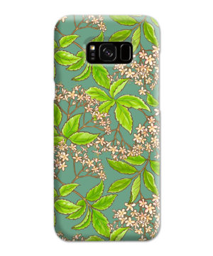 Elderflower Green Leaf for Trendy Samsung Galaxy S8 Plus Case