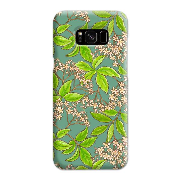 Elderflower Green Leaf for Trendy Samsung Galaxy S8 Plus Case