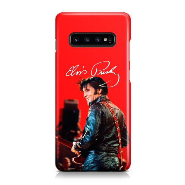 Elvis Presley for Premium Samsung Galaxy S10 Case Cover