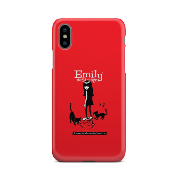 Emily the Strange Crazy Cat Lady for Cute iPhone X / XS Case Cover