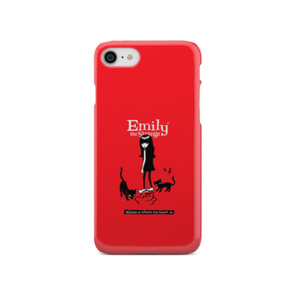 Emily the Strange Crazy Cat Lady for Personalised iPhone SE 2020 Case