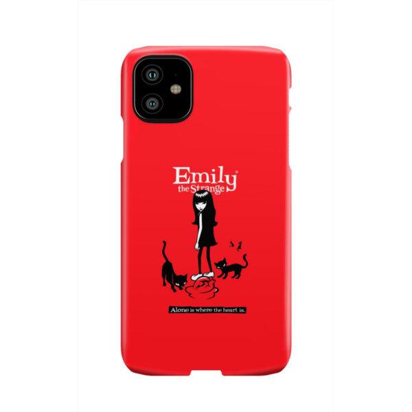 Emily the Strange Crazy Cat Lady for Stylish iPhone 11 Case
