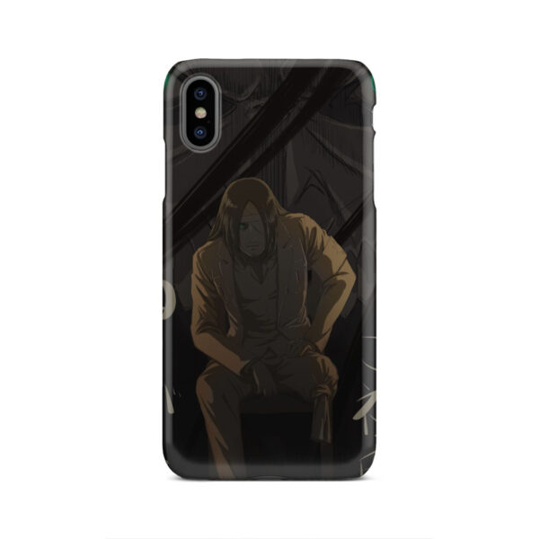 Eren Jaeger Attack on Titan for Beautiful iPhone XS Max Case Cover