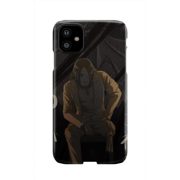 Eren Jaeger Attack on Titan for Custom iPhone 11 Case Cover