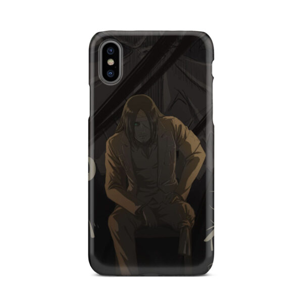 Eren Jaeger Attack on Titan for Custom iPhone X / XS Case Cover