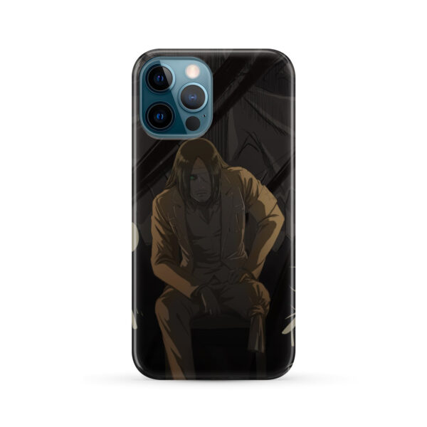Eren Jaeger Attack on Titan for Cute iPhone 12 Pro Max Case