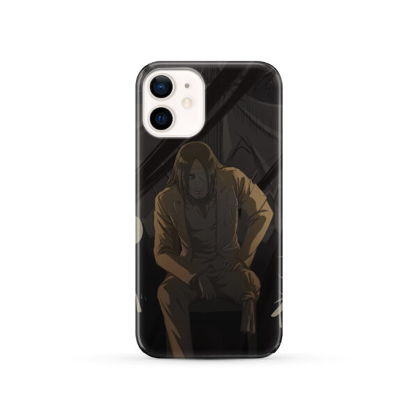 Eren Jaeger Attack on Titan for Newest iPhone 12 Case Cover