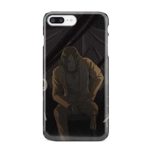 Eren Jaeger Attack on Titan for Premium iPhone 8 Plus Case