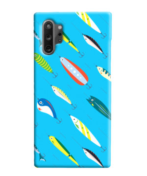 Fishing Bait Cartoon for Best Samsung Galaxy Note 10 Plus Case