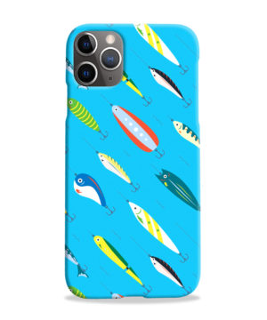 Fishing Bait Cartoon for Cute iPhone 11 Pro Max Case Cover