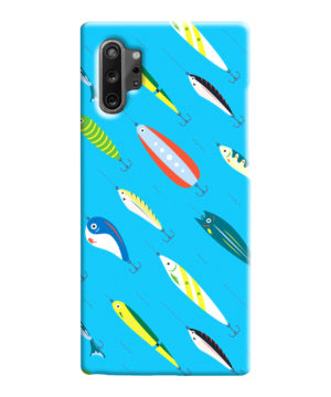Fishing Bait Cartoon for Cute Samsung Galaxy Note 10 Case Cover
