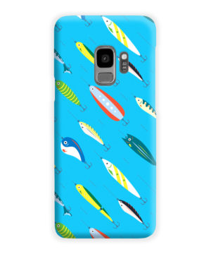 Fishing Bait Cartoon for Premium Samsung Galaxy S9 Case