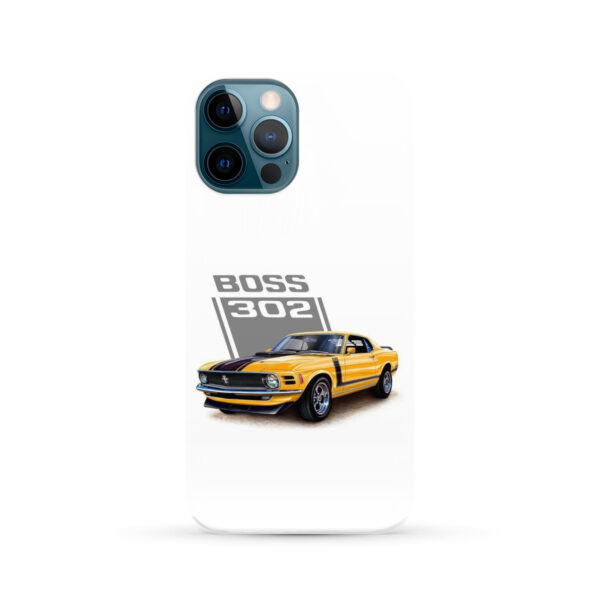 Ford Mustang Boss 302 for Custom iPhone 12 Pro Max Case