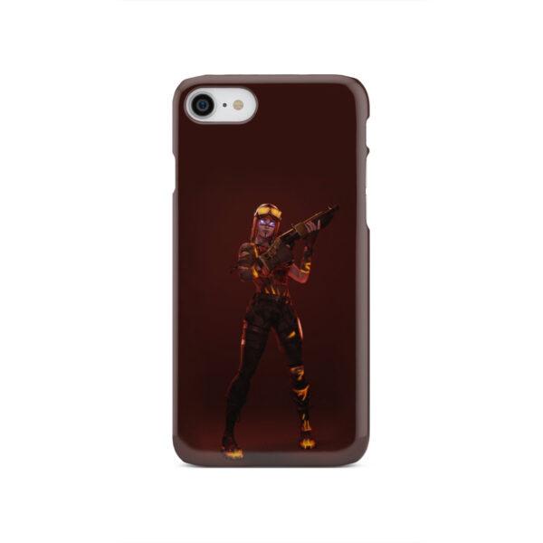 Fortnite Blaze for Customized iPhone SE 2020 Case