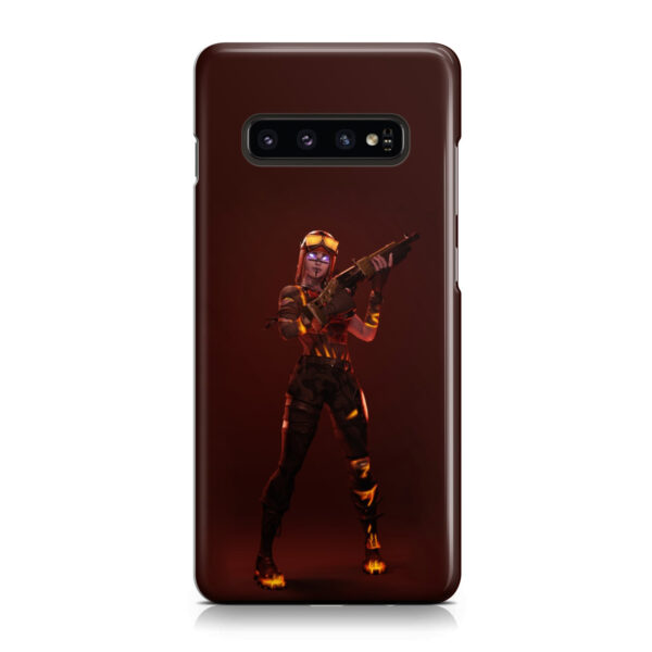 Fortnite Blaze for Premium Samsung Galaxy S10 Case