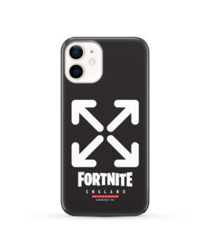 Fortnite England Logo for Custom iPhone 12 Case