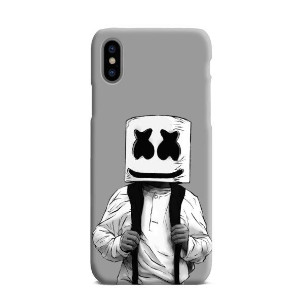 Fortnite Marshmallow Dj for Beautiful iPhone XS Max Case