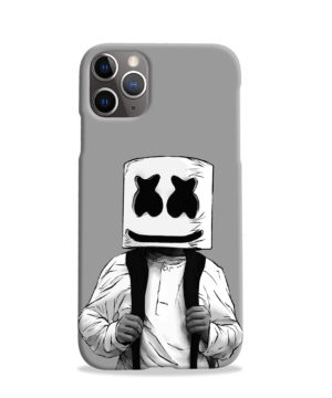Fortnite Marshmallow Dj for Nice iPhone 11 Pro Case Cover