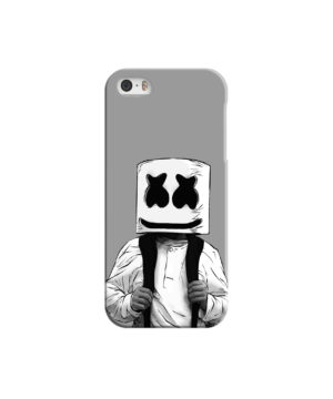 Fortnite Marshmallow Dj for Nice iPhone 5 Case Cover