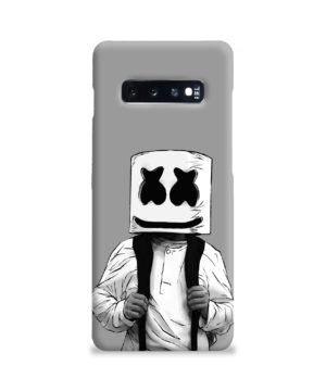 Fortnite Marshmallow Dj for Premium Samsung Galaxy S10 Plus Case Cover