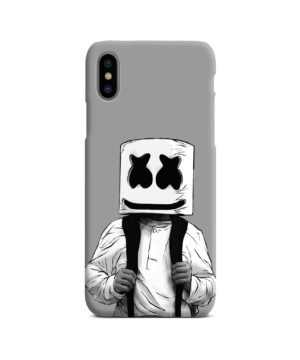 Fortnite Marshmallow Dj for Stylish iPhone X / XS Case