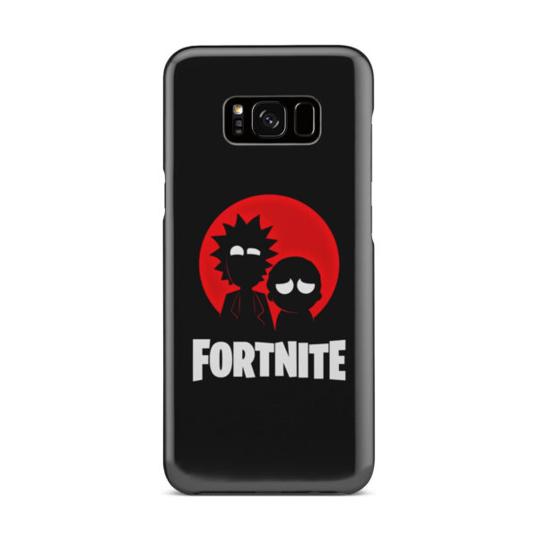 Fortnite Rick and Morty for Best Samsung Galaxy S8 Plus Case Cover