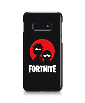 Fortnite Rick and Morty for Custom Samsung Galaxy S10e Case Cover