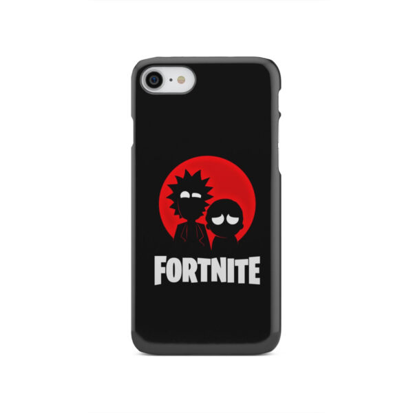 Fortnite Rick and Morty for Customized iPhone SE 2020 Case