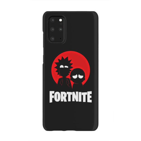 Fortnite Rick and Morty for Cute Samsung Galaxy S20 Plus Case Cover