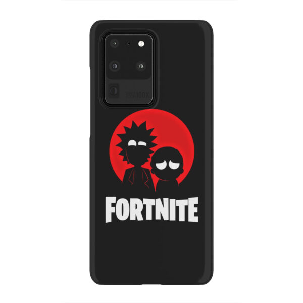 Fortnite Rick and Morty for Cute Samsung Galaxy S20 Ultra Case Cover