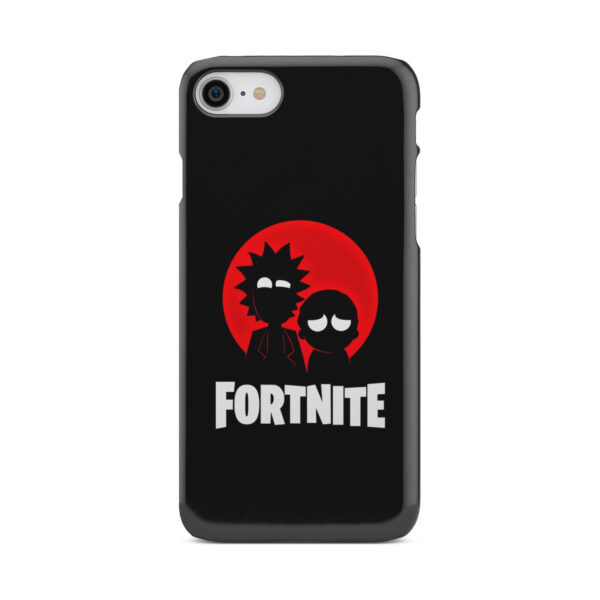 Fortnite Rick and Morty for Nice iPhone 8 Case