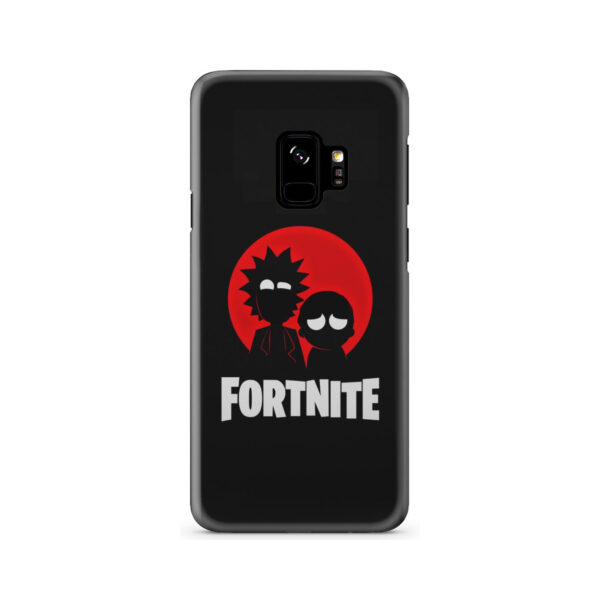 Fortnite Rick and Morty for Premium Samsung Galaxy S9 Case Cover