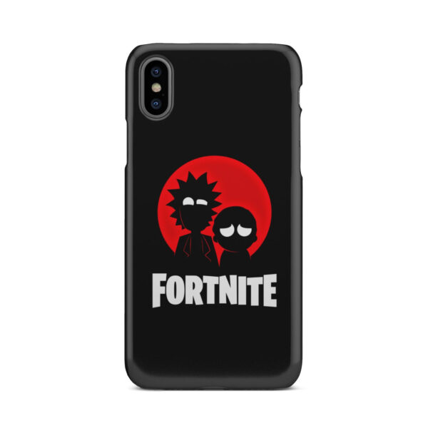 Fortnite Rick and Morty for Simple iPhone X / XS Case