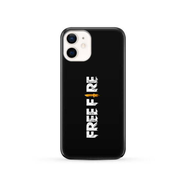 Free Fire Logo for Customized iPhone 12 Case