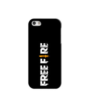 Free Fire Logo for Newest iPhone 5 Case