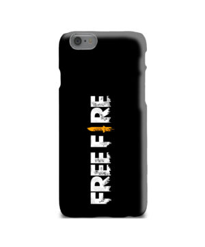 Free Fire Logo for Stylish iPhone 6 Case