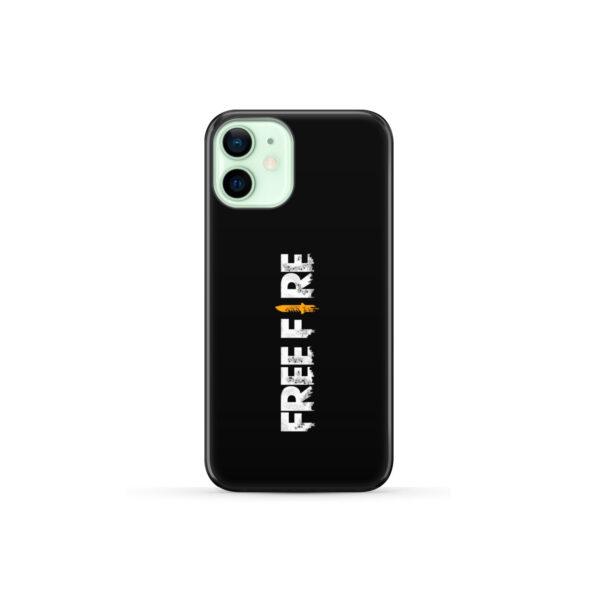 Free Fire Logo for Unique iPhone 12 Mini Case Cover