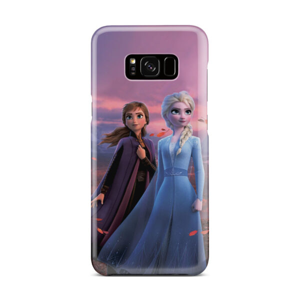 Frozen Elsa And Anna for Cute Samsung Galaxy S8 Plus Case Cover