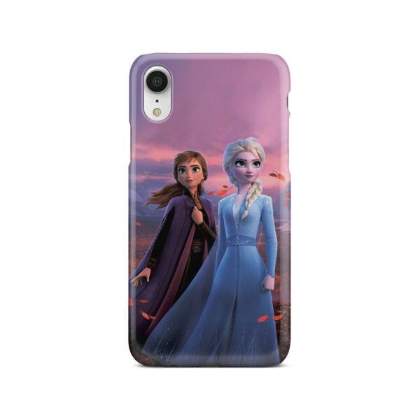 Frozen Elsa And Anna for Personalised iPhone XR Case Cover
