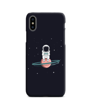 Funny Astronaut for Cool iPhone X / XS Case Cover