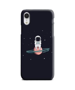 Funny Astronaut for Personalised iPhone XR Case