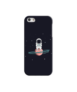 Funny Astronaut for Simple iPhone 5 Case Cover