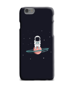Funny Astronaut for Unique iPhone 6 Plus Case
